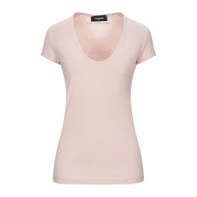 ディースクエアード DSQUARED2 T シャツ ピンク L コットン 100% T シャツ