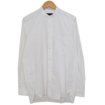 BLUE WORK バンドカラーシャツ ホワイト サイズ:S (新潟紫竹山店) 200821