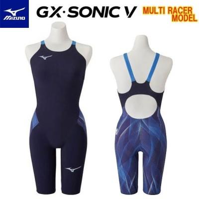ミズノスイム ハーフスパッツ GX・SONIC5 MR N2MG0202 レディース競泳水着