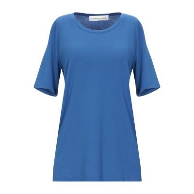 ランベルト・ロザーニ LAMBERTO LOSANI T シャツ ブルー 44 コットン 92% / ポリウレタン 8% T シャツ