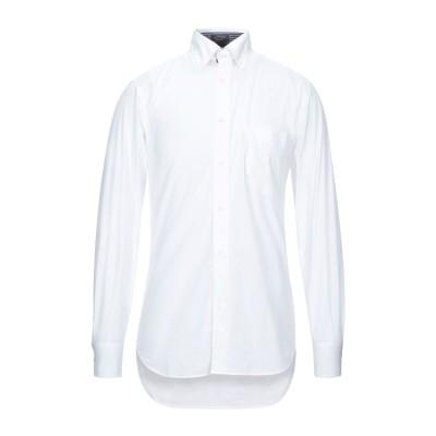 ポール・アンド・シャーク PAUL & SHARK シャツ ホワイト 39 コットン 100% シャツ