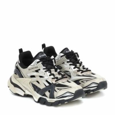 バレンシアガ Balenciaga レディース スニーカー シューズ・靴 Track 2 sneakers Beige/Black