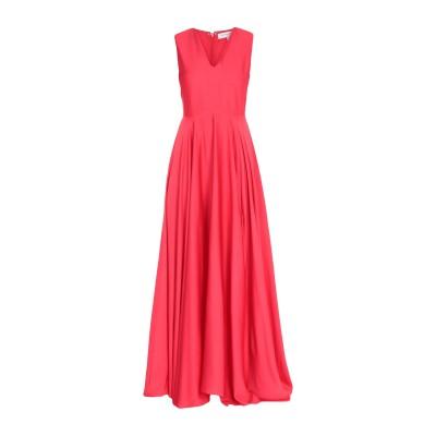 シルビアンヒーチ SILVIAN HEACH ロングワンピース&ドレス レッド M ポリエステル 100% ロングワンピース&ドレス