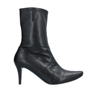 ファルッチ FARRUTX ショートブーツ ブラック 36.5 紡績繊維 ショートブーツ