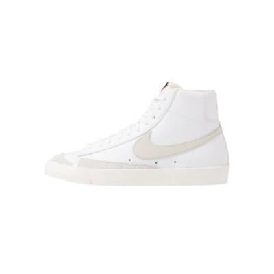 ナイキ メンズ スニーカー シューズ BLAZER MID '77 - High-top trainers - white/light bone/sail white/light bone/sail