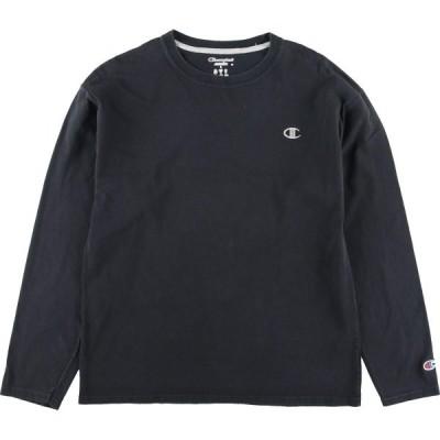 チャンピオン Champion ロングTシャツ ロンT メンズL /eaa140207