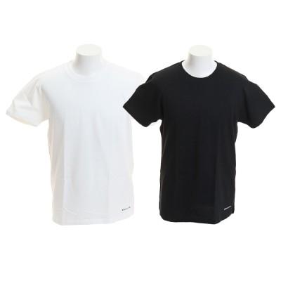 ディーシー・シュー雑貨19 2パック Tシャツ 19SU5226J933BKW ホワイト×ブラック