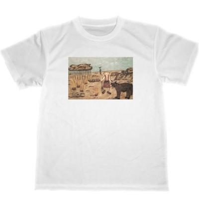 エレーヌ・スミス ドライ Tシャツ 超火星の風景 アウトサイダー・アート