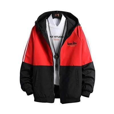 ウィンドブレーカー メンズ ジャンパー ブルゾン ジャケット マウンテンパーカー アウター 防風 防寒 カジュアル おしゃれ 大きいサイズ