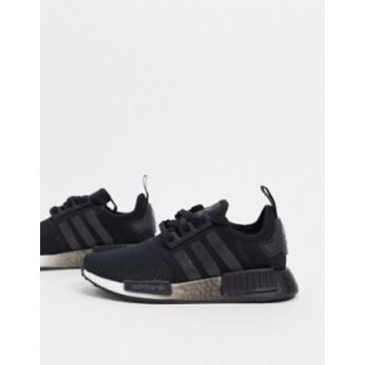 アディダス レディース スニーカー シューズ adidas Originals NMD sneakers in black Black