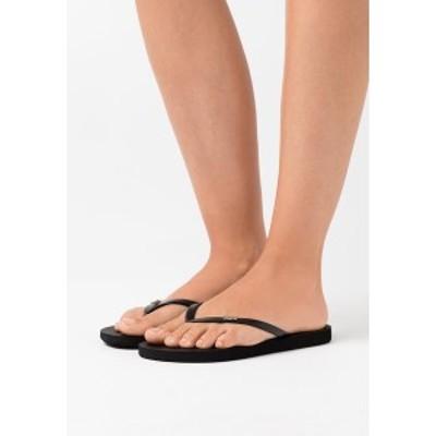 ロキシー レディース サンダル シューズ VIVA IV - Pool shoes - black black