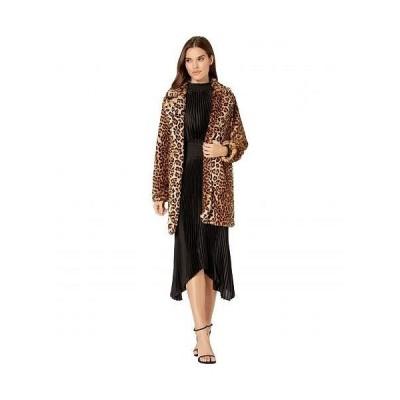 Blank NYC ブランクエヌワイシー レディース 女性用 ファッション アウター ジャケット コート Faux Fur Leopard Coat in Note To Self - Multicolor