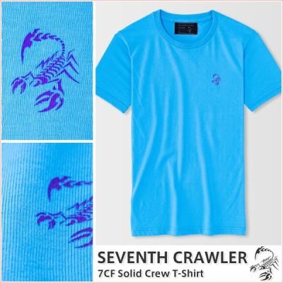 Tシャツ メンズ 半袖 アメカジ ブランド セブンスクローラー 正規品 アクアブルー