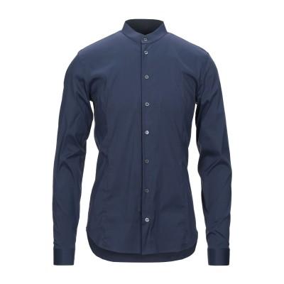 パトリツィア ペペ PATRIZIA PEPE シャツ ブルーグレー 46 コットン 67% / ナイロン 27% / ポリウレタン 6% シャツ