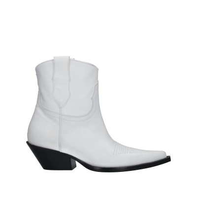 メゾン マルジェラ MAISON MARGIELA ショートブーツ ホワイト 36 革 ショートブーツ