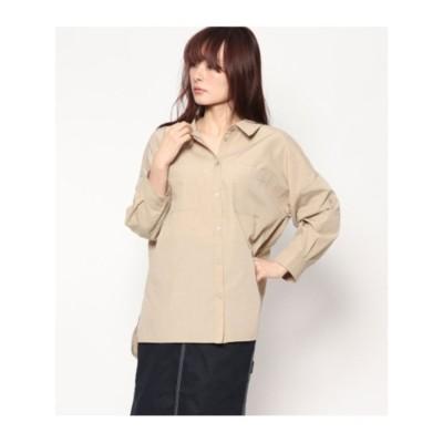 コットンビックシャツ (ベージュ(005))