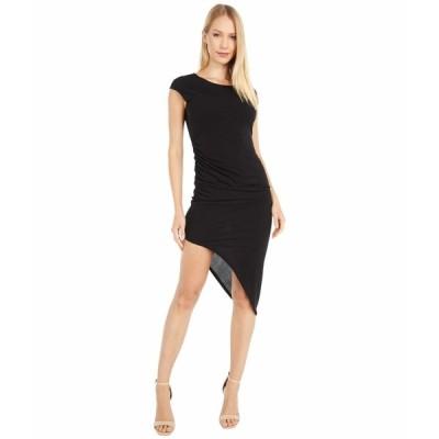 BCBジェネレーション ワンピース トップス レディース Asymmetrical Dress - YDM65P93 Black