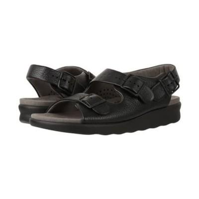 SAS(サス) レディース 女性用 シューズ 靴 サンダル Relaxed - Black 10.5 N - Narrow (AA) [並行輸入品]