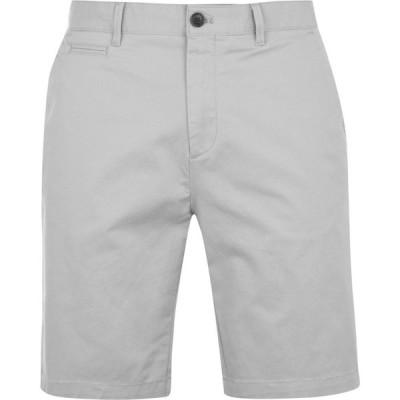 ハウィック Howick メンズ ショートパンツ ボトムス・パンツ Oakley Slim Chino Shorts Light Grey