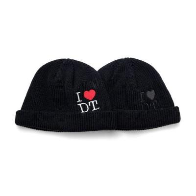 DREAMTEAM dream Team ドリームチーム Knit Cap ショート ビーニー I Love DT Short Beanie Cap DT-550 hiphop ストリート DJ RYOW ストリート系 ファッシ