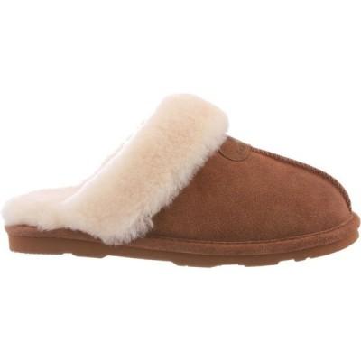 ベアパウ BEARPAW レディース スリッパ シューズ・靴 Bearpaw Fiona Slippers Hickory