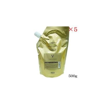 ナンバースリー 003 ミュリアム トリートメント V 500g レフィル 詰替用 ×5セット