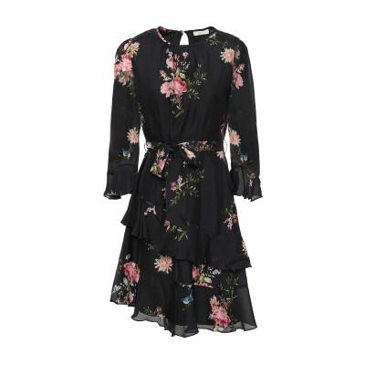 ジョア JOIE ミニワンピース&ドレス ブラック 4 シルク 100% ミニワンピース&ドレス