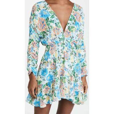 ミサ MISA レディース ワンピース ワンピース・ドレス Chiara Dress Oasis Floral
