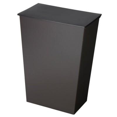 ImD(アイムディ) ゴミ箱 クード シンプル ワイド ブラック KUDSP-WDBK