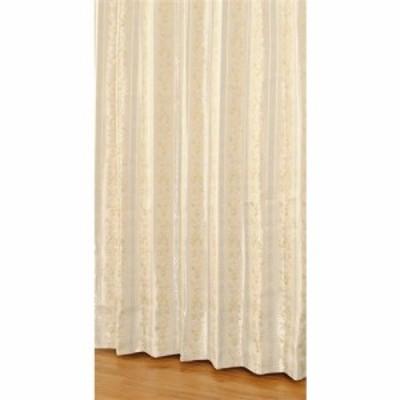 [150×135]カーテンエレンシア イエロー 2枚で1間半用 1枚入 遮光性(遮光裏地付カーテン)形状記憶加工 ウォッシャブル 保温性