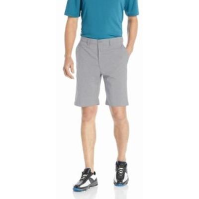 HEATHER  ファッション パンツ PGA TOUR NEW Gray Heather Mens Size 42 Stretch Flat Front Shorts