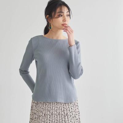 変形リブカットソー【抗菌防臭】