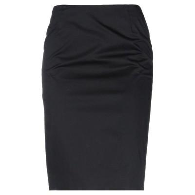 CLIPS ひざ丈スカート  レディースファッション  ボトムス  スカート  ロング、マキシ丈スカート ブラック