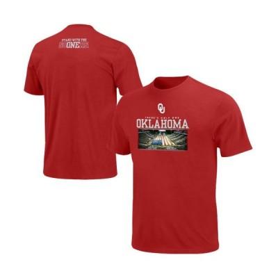 カレッジ NCAA アメリカ USA 大学 スポーツ マジェスティック Majestic Oklahoma Sooners ユース Only One Tシャツ - Crimson