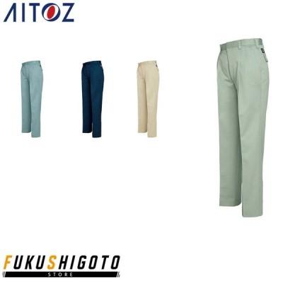 AITOZ 6382 ワークパンツ2タック W70-85cm 【秋冬対応 作業着 作業服 アイトス】