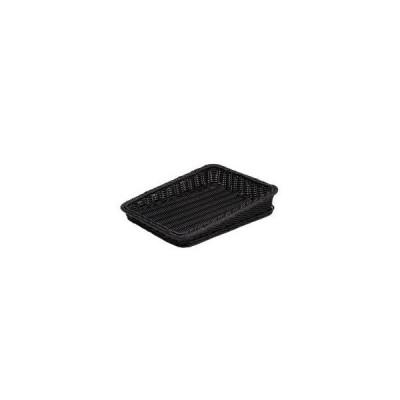 樹脂製太渕ディスプレイかご 傾斜型 大 黒 91-027B WKG3802