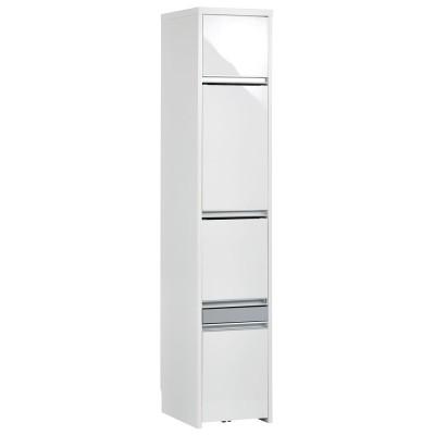 Ymir/ユミル 隠せる家電収納 幅35奥行45cm ホワイト