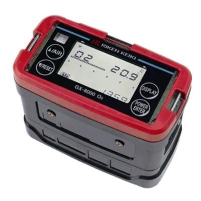 理研計器 GX-8000 TYPE O2 ポータブルガスモニター 乾電池仕様