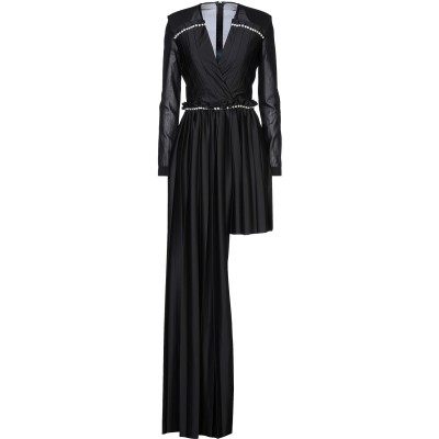 マルコ ボローニャ MARCO BOLOGNA ロングワンピース&ドレス ブラック 40 ポリエステル 100% ロングワンピース&ドレス