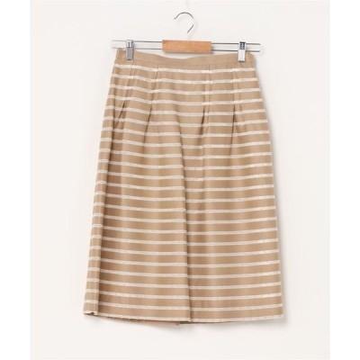 スカート 【HANAE MORI ALMA EN ROSE】ドットライン スカート
