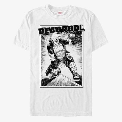 デッドプール Tシャツ マーベル Marvel レディース メンズ兼用 半袖 即日発送可