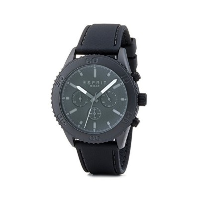 Esprit Men's Chronograph Quartz Watch with Plastic Strap ES106871003 並行輸入品