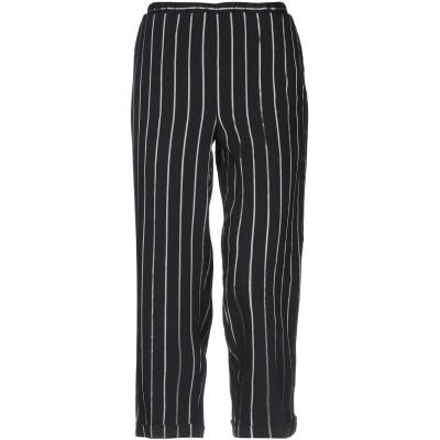 トゥルー トラディション TRUE TRADITION パンツ ブラック 42 バージンウール 56% / ナイロン 22% / シルク 10% /