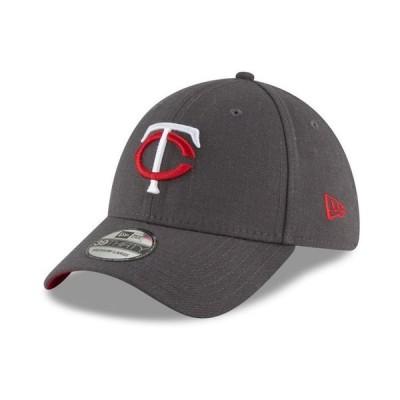 ニューエラ メンズ 帽子 アクセサリー Minnesota Twins Charcoal Classic 39THIRTY Cap