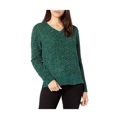 並行輸入品NYDJ レディース Vネック セーター US サイズ: XX-Small カラー: グリーン