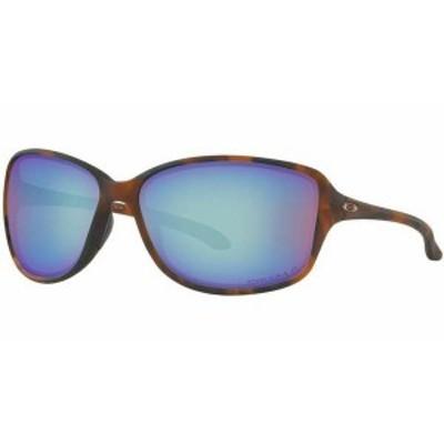 オークリー レディース サングラス・アイウェア アクセサリー Oakley Women's Cohort Prizm Polarized Sunglasses Matte Brown Tortoise/