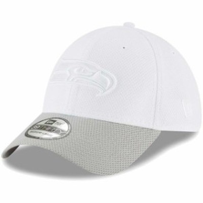 New Era ニュー エラ スポーツ用品  New Era Seattle Seahawks White/Gray Tone Tech Redux 2 39THIRTY Flex Hat