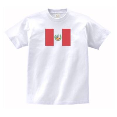 ペルー 国 国旗 Tシャツ