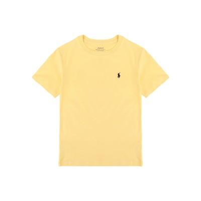 ラルフローレン RALPH LAUREN T シャツ イエロー 8 コットン 100% T シャツ