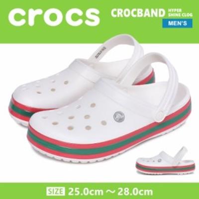CROCS クロックス サンダル クロックバンド ハイパー シャイン クロッグ 206379 メンズ レディース